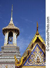 Thai Temple - Wat Phra Keow in Bangkok