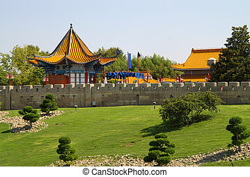 China theme - The China theme park
