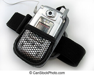 mp3 player armband - An armband / holster for a cell phone...