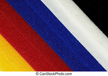 Colored Velcro - Photo of Various Color Velcro Strips