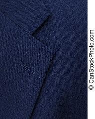 business suit lapel - the lapel on a businessman\\\'s suit