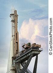 Space rocket - Russian space rocket