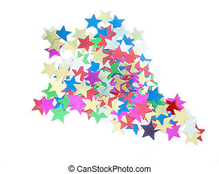 Star Shapes 1 - Rocket made out of star shapes