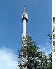 Stuttgart Radio Tower - Radio tower in Stuttgart Germany