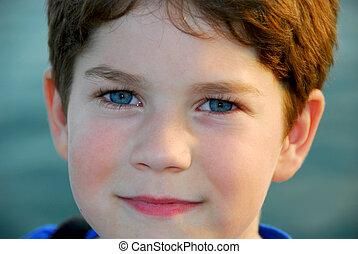 Boy portrait - Portrait of a young cute boy
