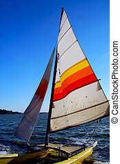 Sailboat - Sailing catamaran