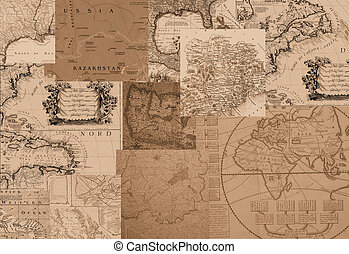 Sepia Maps - ancient maps
