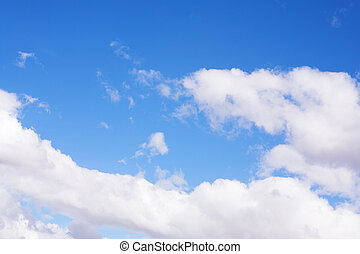 Blue Sky and Clouds #5