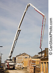 construction Boom Concrete pump