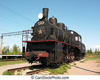Steam locomotive - USSR steam locomotive