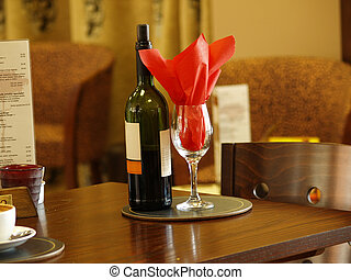 Red wine: House wine taken in my friends bistro