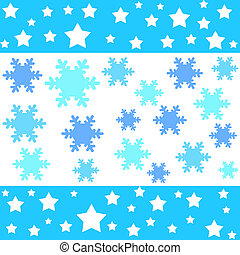 Stars and snow flake