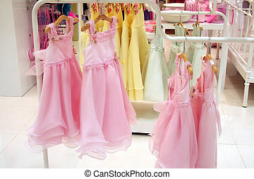 Girls\\\' party dresses - Pink frilly girls\\\' party...