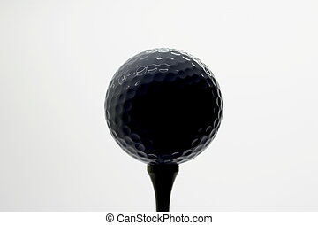 golfball on tee