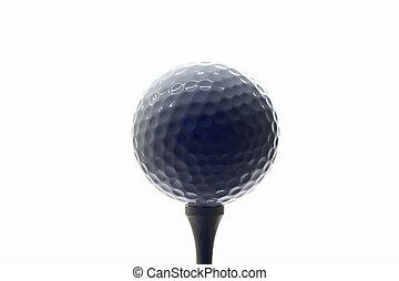 golfball on tee 02