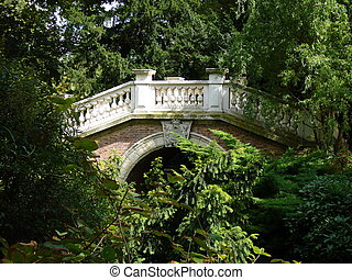 Chinese Bridge - The chinese bridge in the Park Monceau...