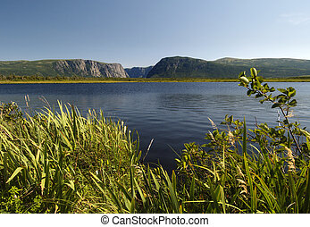 Western Brook Pond located in Newfoundland Canada