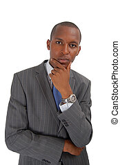 Business in Focus - This is an image of a businessman...