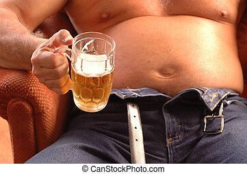 beer belly gut