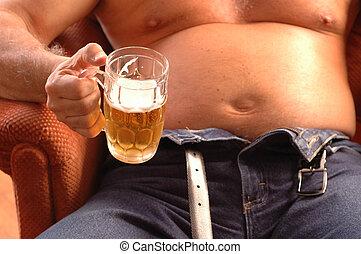 bière, ventre