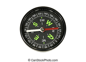 Compass - Photo of a Black Compass