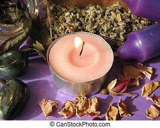 wiccan herbs - Various wiccanpagan herbs