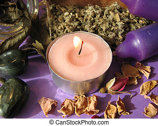 wiccan herbs - Various wiccan/pagan herbs.