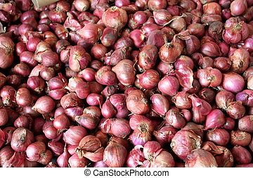 Onions - Small red onions (shallots)