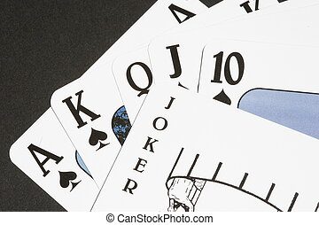 Winning Hand? - Royal Flush with a joker thrown in to...