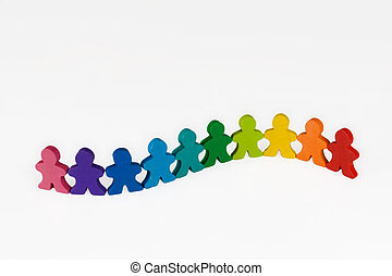 Diversity and Community - Social and Business concepts...