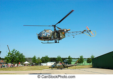 Military industry, helicopters