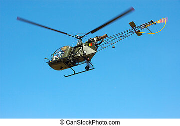 Military industry, helicopter