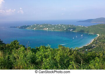megans bay - a picture of megans bay in St Thomas USVI