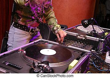 DJ, -, ragazza