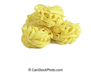 pasta (isolated on white background) - OLYMPUS DIGITAL...