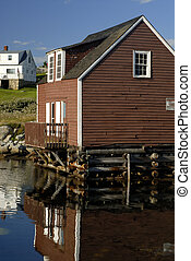 Coastal House - House Built Into A Harbour On Canadas East...