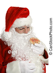Santa Cheats on Diet - Santa considers whether or not to eat...