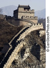 The Great Wall - The great wall at China.