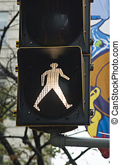 walk traffic light