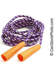 jump rope - kids isolated jump rope