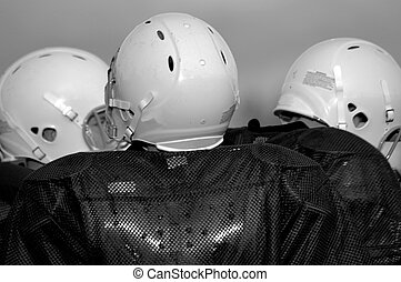 Football Players B+W - Football Team
