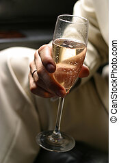 Glass of champagne - 1