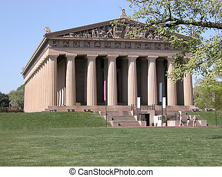 Parthenon Replica - Replica building of the Parthenon from...