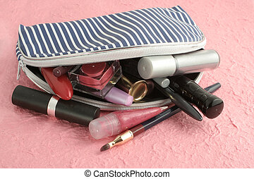 makeup case - spilled makeup from case