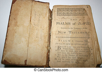 Psalms of David 1600 - Ancient