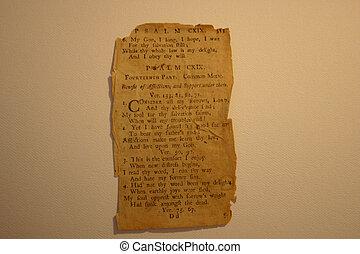 Old Paper - parchment