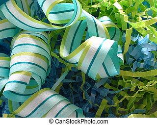 Ribbon and Confetti