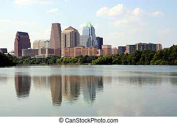 Downtown Austin, Texas - A nice clear shot of downtown...
