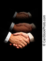 handshake(special f/x) - business agreement(made from my...