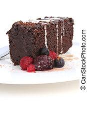Chocolate mud cake p